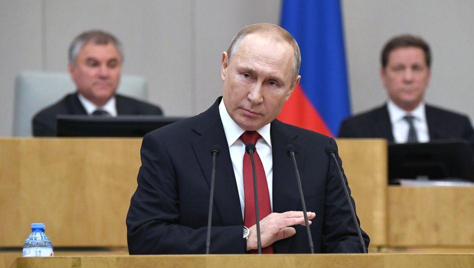 Kremlchef Putin will Erfahrung des Militärs nutzen