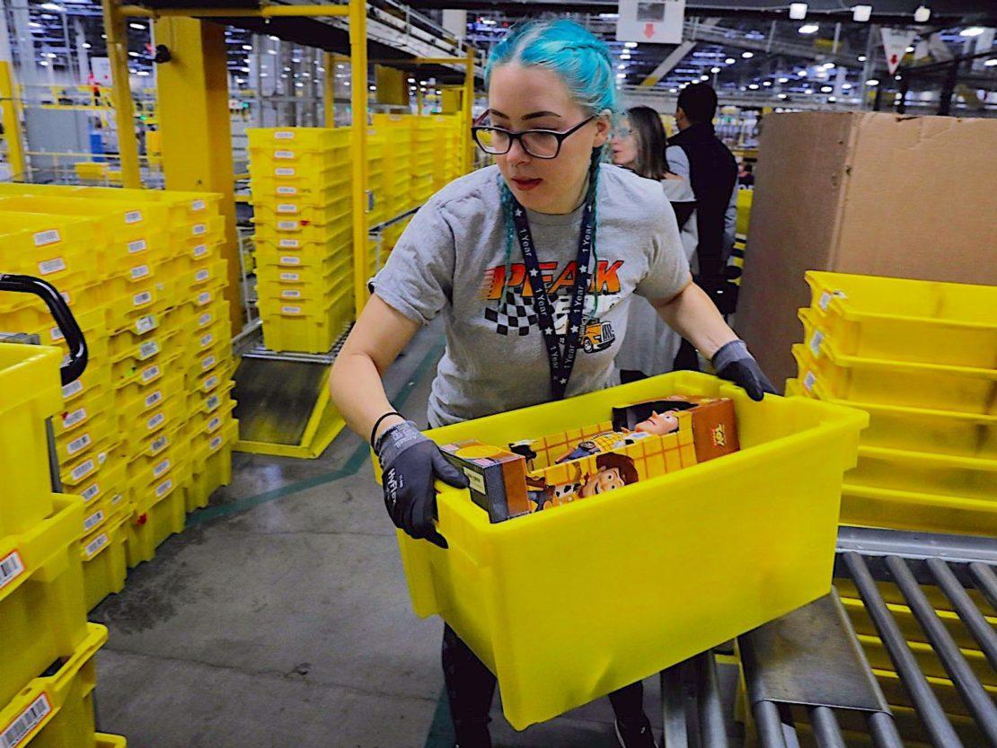Amazon will in Corona-Krise weitere 75.000 Mitarbeiter einstellen