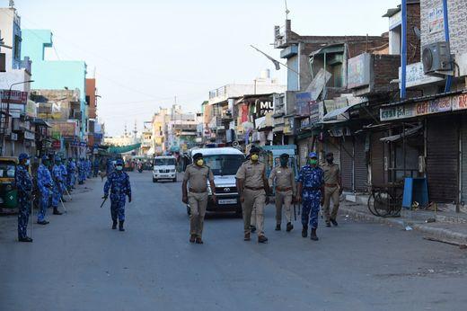 Indien verlängert Ausgangsbeschränkungen bis 3. Mai