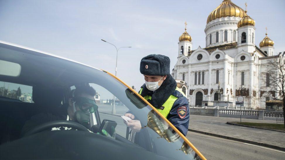 Moskau: Haus verlassen nur mit digitalem Passierschein