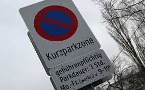 Kurzparkzonen in einzelnen Städten aktiv