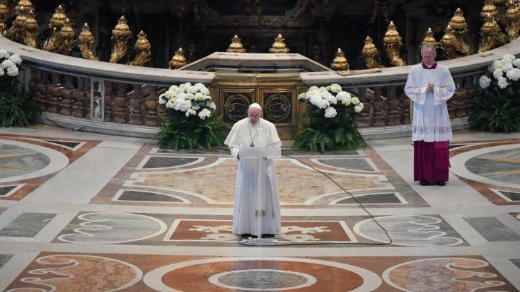 Papst ruft zur Einheit auf