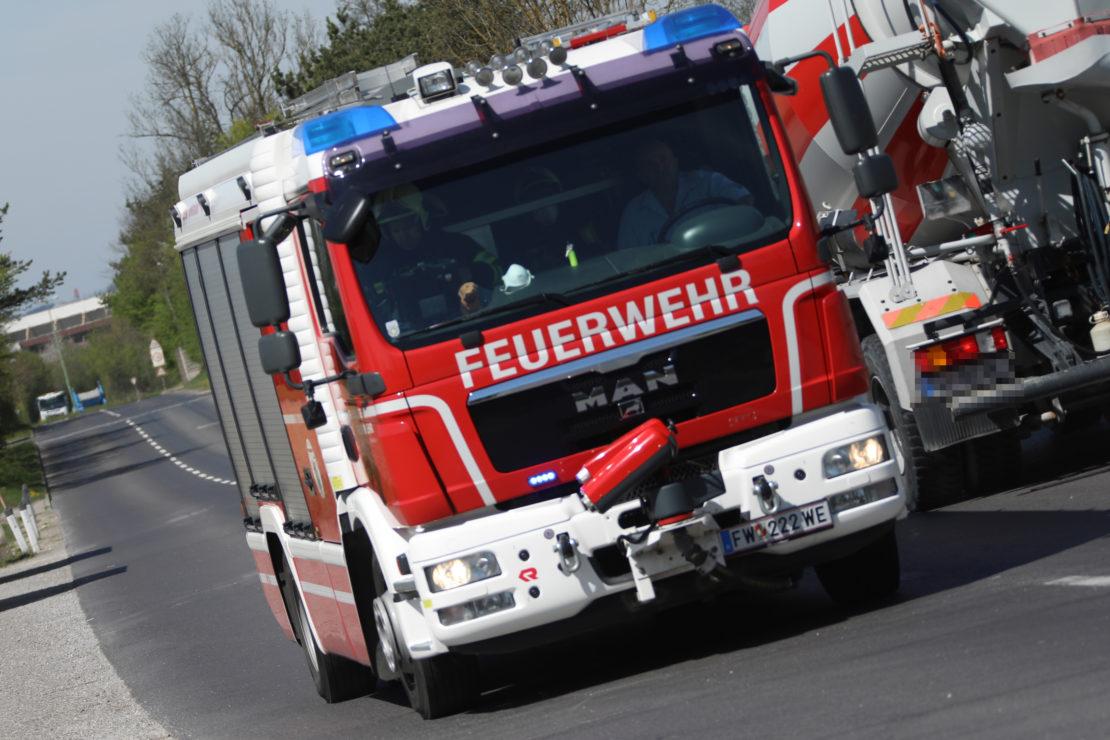 Kleinerer Brandeinsatz bei Abfallverwertungsunternehmen in Wels-Schafwiesen