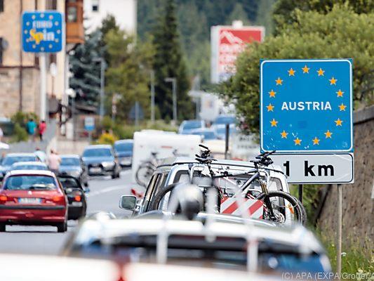 Neue Ausnahmebestimmungen für Einreise nach Österreich