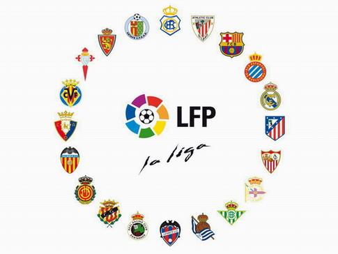 Top 4 von Spaniens Liga bei Abbruch in CL dabei