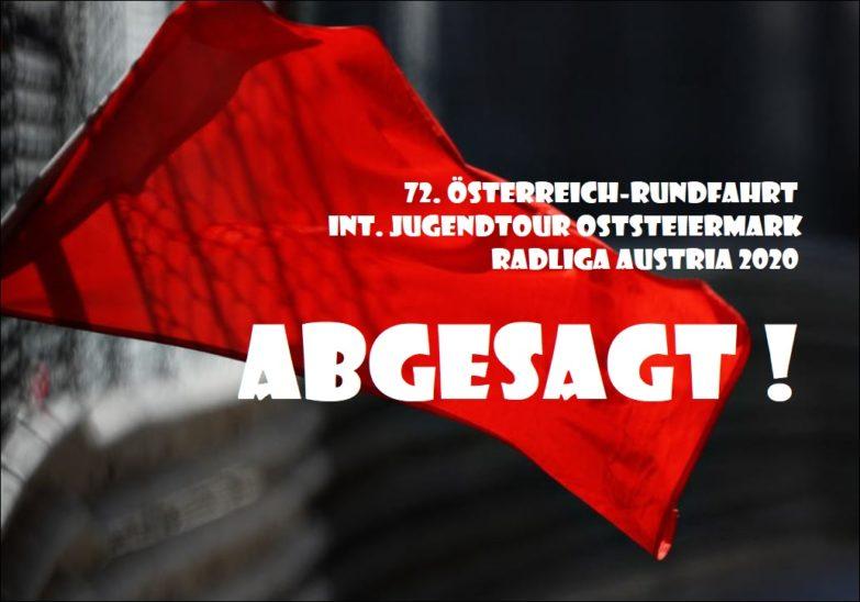 Österreich Rundfahrt abgesagt