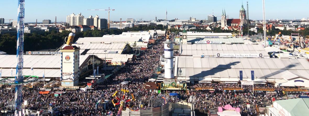Münchner Oktoberfest wird abgesagt