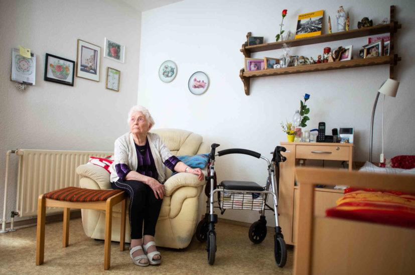 Lockerung des Besuchsverbots in Altenheimen in Aussicht