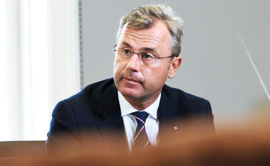 Hofer will Verbot von Parteienspenden bis Ende 2020