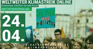 Tausende Österreicher beteiligten sich an Klimastreik im Netz
