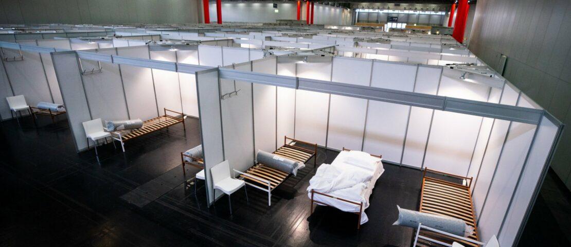 Erste Patienten werden in Wiener Messer betreut