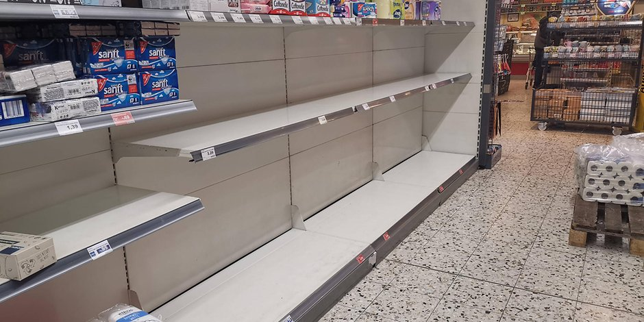 "EU verhinderte ""leere Supermarktregale"""