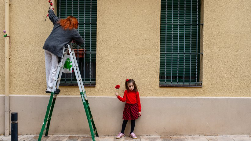 Kinder dürfen in Spanien wieder raus