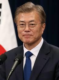 Kurz sprach mit Südkoreas Präsidenten Moon
