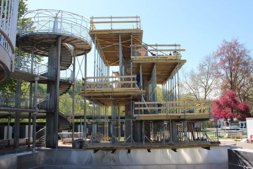 Baustellen in Wels