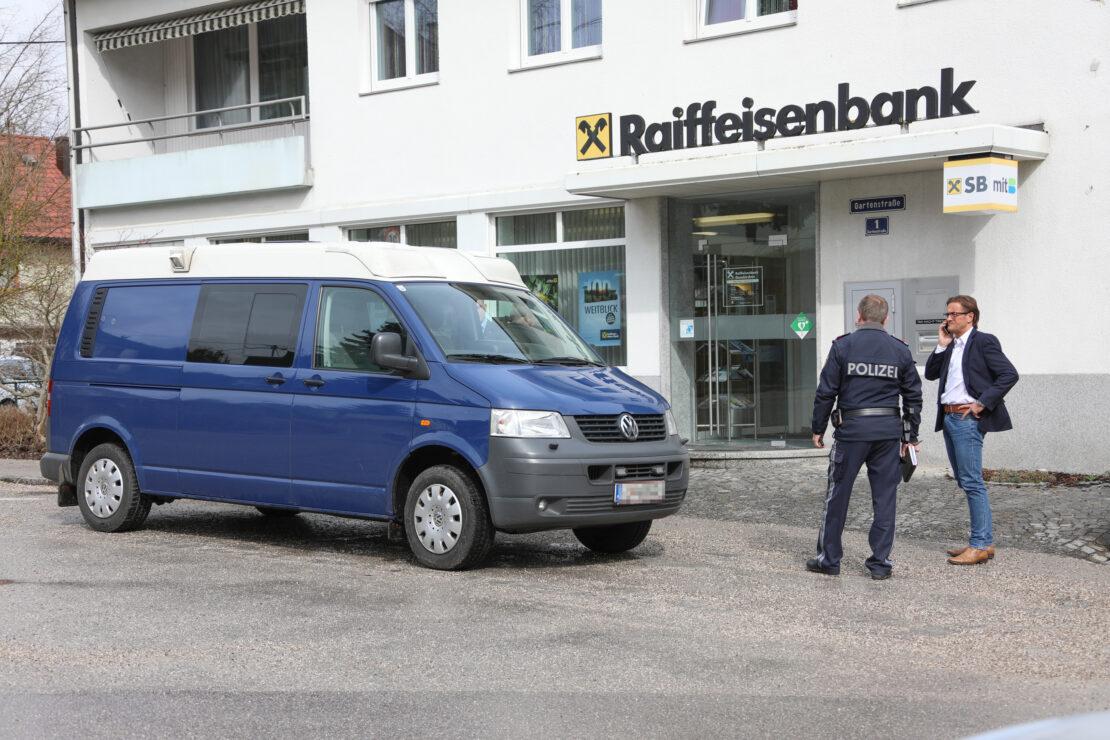 Sechsfache Raubserie auf mehrere Bankfilialen - zwei davon in Offenhausen - geklärt