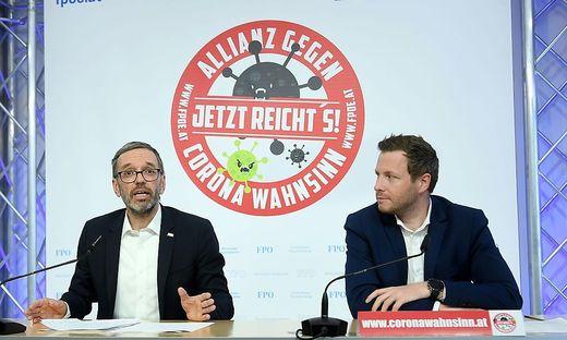 """FPÖ meldet 40.000 Unterschriften gegen """"Corona-Wahnsinn"""""""