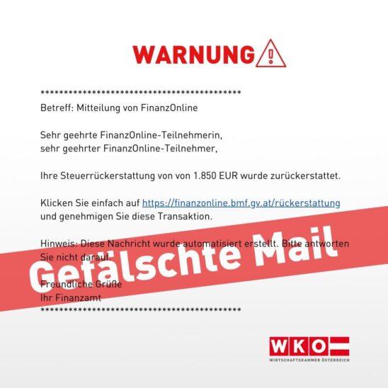 WKO Warnung