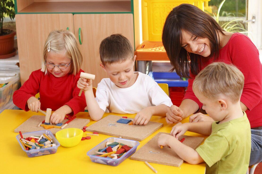 Kindergärten - Anstieg der Auslastung in allen Bundesländern