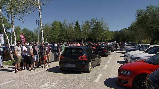 Treffen von rund 100 GTI-Fans in Kärnten aufgelöst