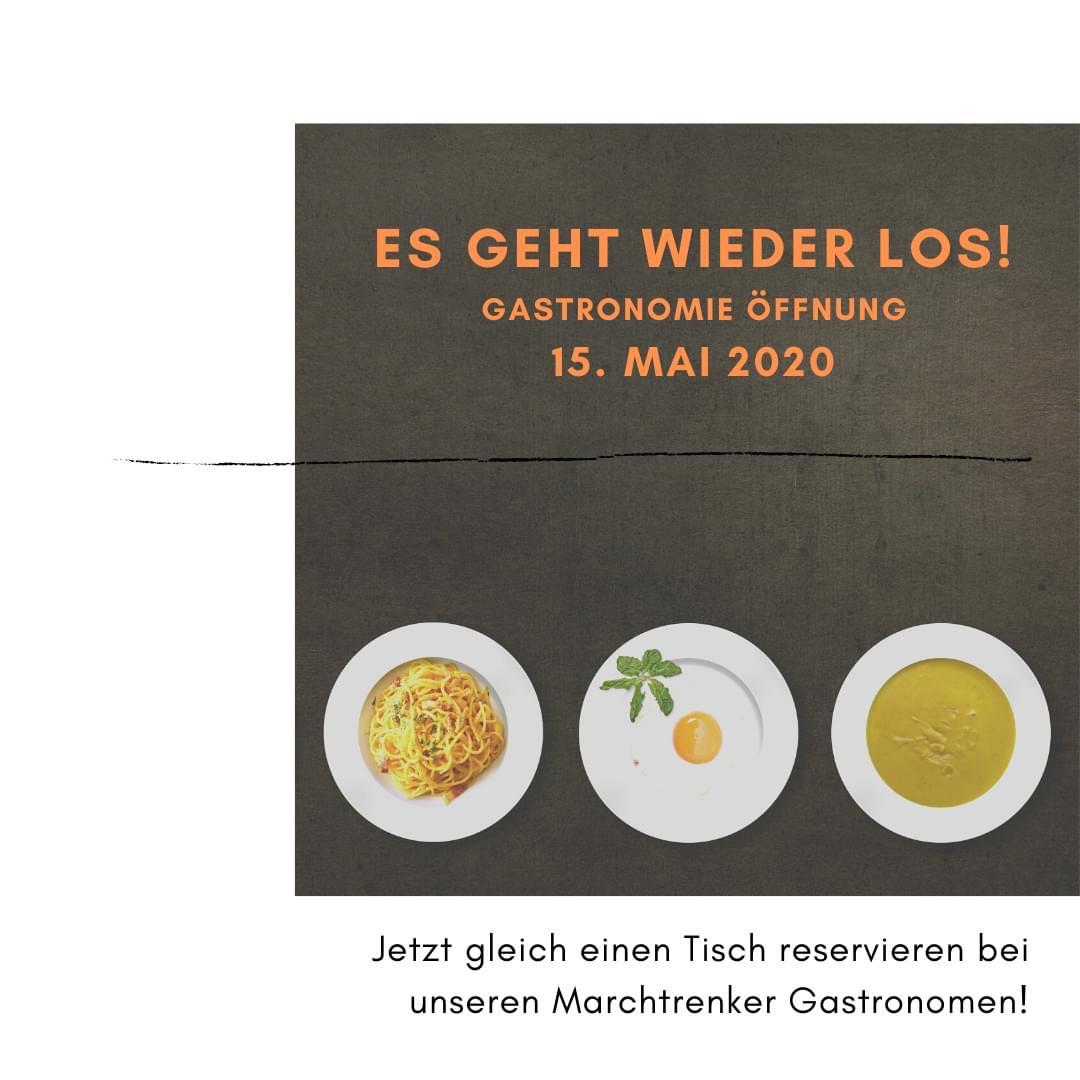 Gastronomiebetriebe in Marchtrenk öffnen wieder