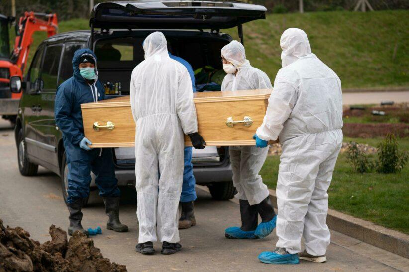 Mehr als 40.000 Tote in Großbritannien