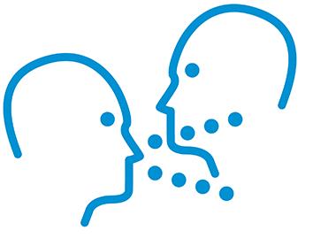 Übertragung vor allem beim Sprechen möglich