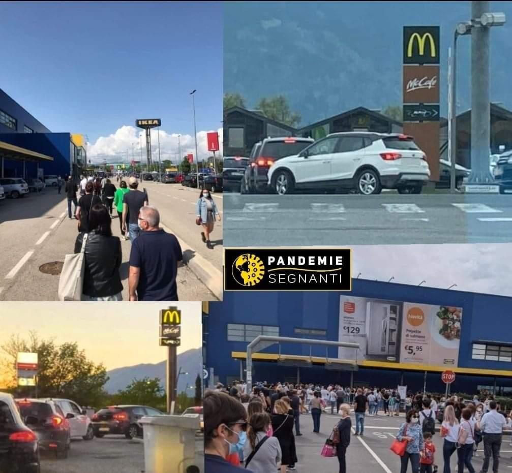 Italiener stürmen Ikea-Filialen