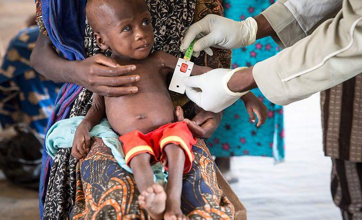 UN: Ernährung von zehn Millionen Kindern in Gefahr