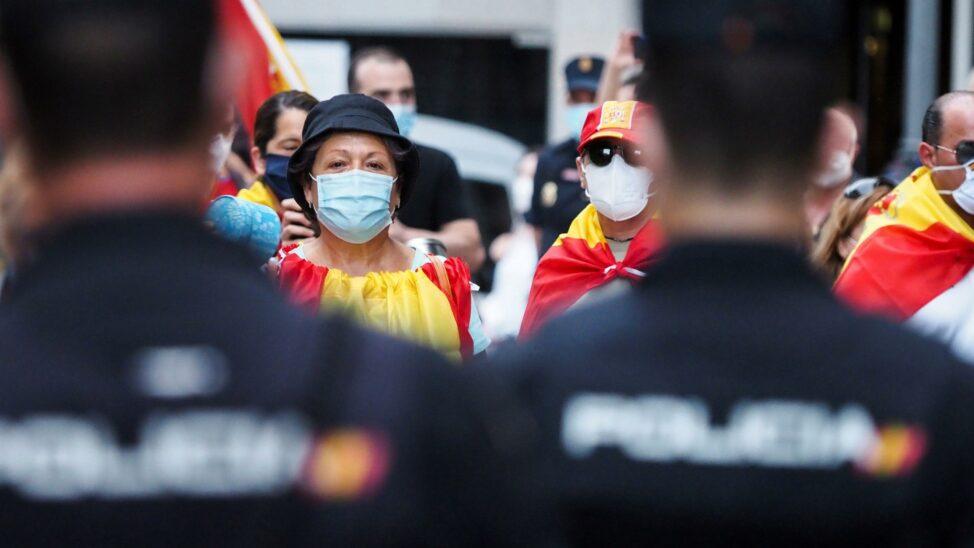 Umstrittener Corona-Notstand in Spanien bis zum 6. Juni verlängert