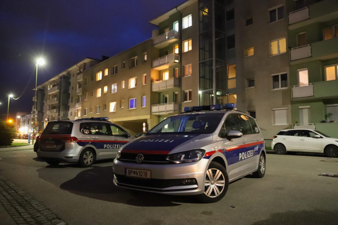 Fernseher und Spielkonsole erbeutet: Raubüberfall mit Waffe auf Wohnungsmieter in Wels-Vogelweide