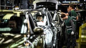 Autoproduktion in Russland eingebrochen