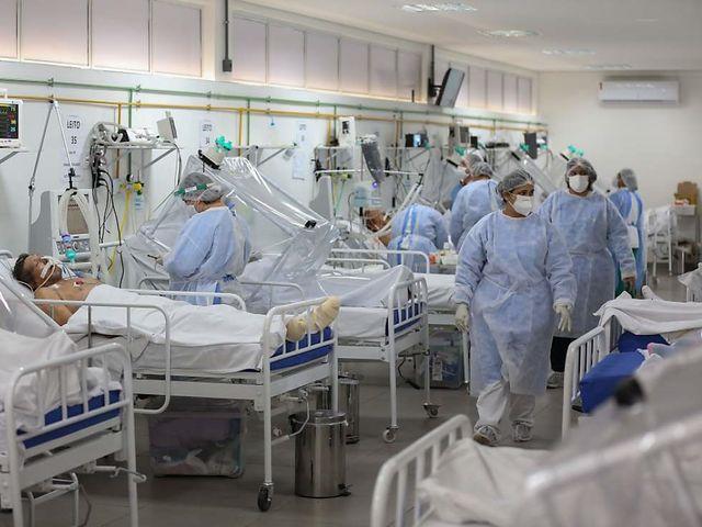 Brasilien auf Platz zwei bei Corona-Infektionen