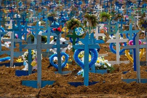 Brasilien: Erstmals mehr Corona-Tote in 24 Std. als in USA
