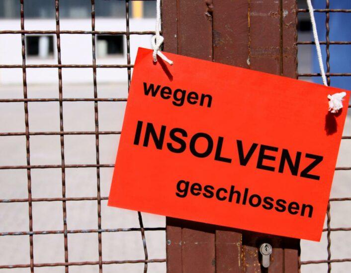 Privat- und Firmeninsolvenzen in Coronazeit massiv gesunken