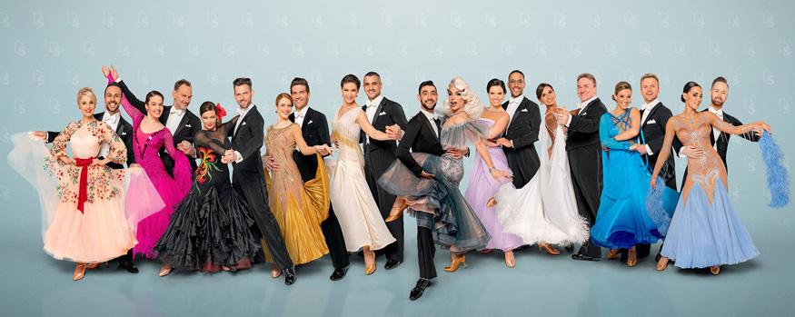 Comeback der Dancing StarsDer Tanzsaal im ORF wird am 4. September geöffnet