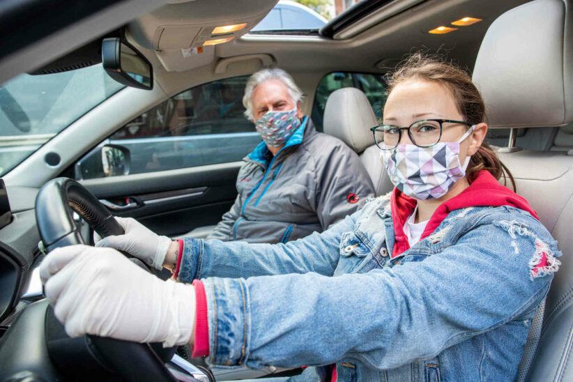 Keine Maskenpflicht mehr bei Führerschein-Theoriekurs
