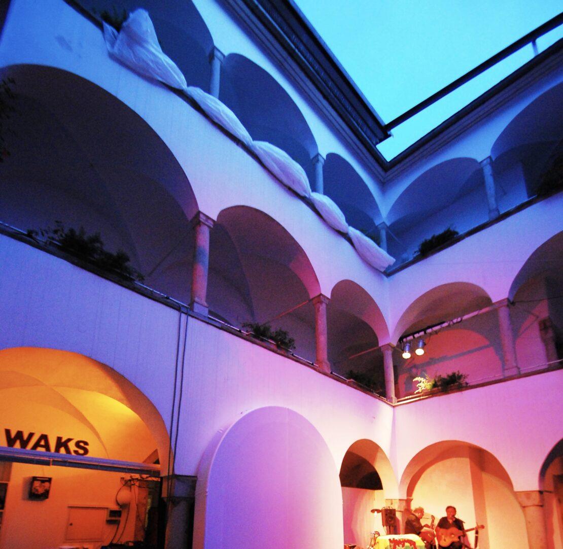 Der 15. Welser Arkadenhof Kultur Sommer WAKS findet statt!