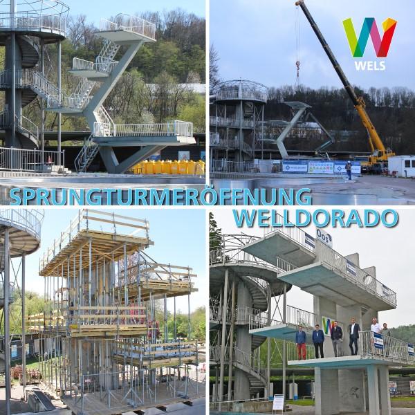 Welldorado Sprungturm