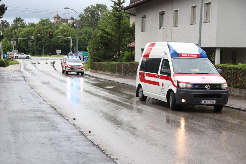 E-Bike-Lenkerin bei Sturz in Marchtrenk schwer verletzt