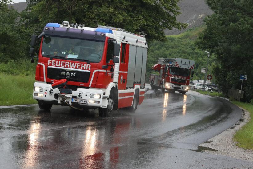 Brand bei Abfallverwertungsunternehmen in Wels-Schafwiesen rasch gelöscht