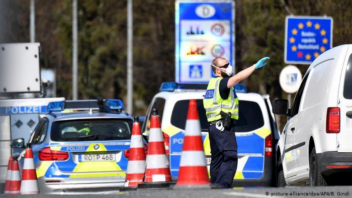 Kontrollen an den deutschen Grenzen enden um Mitternacht