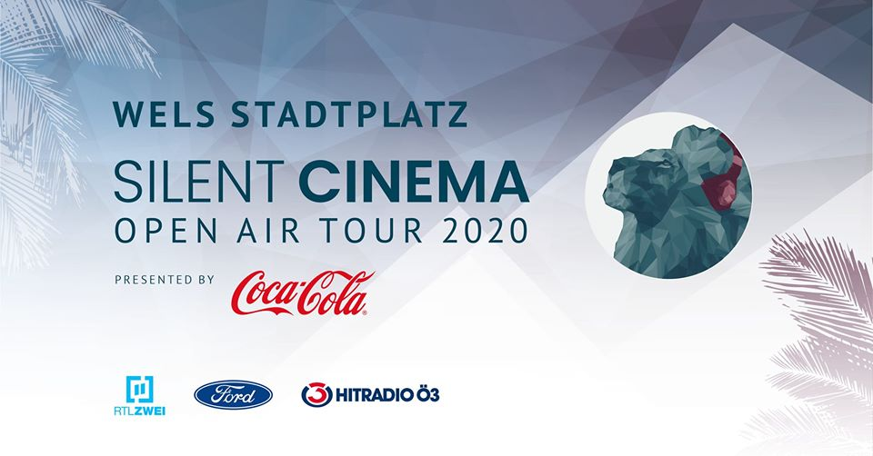 Silent Cinema Open Air Tour 2020 presented