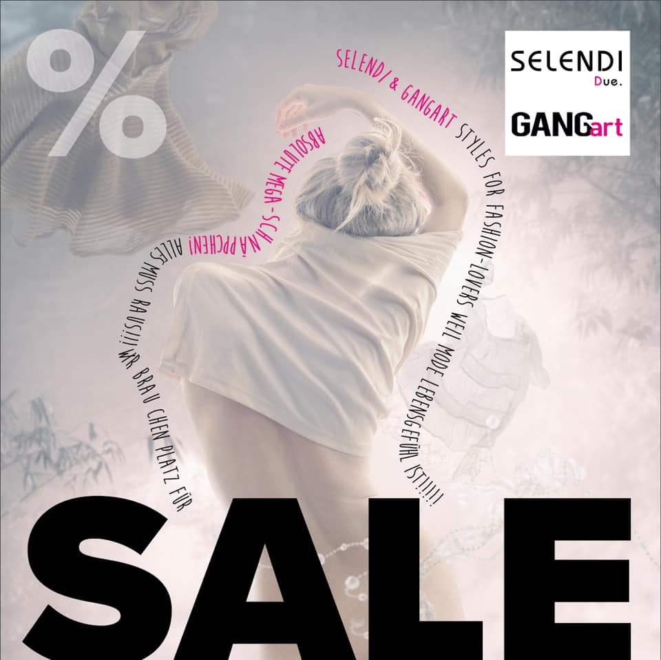 SALE bei Gangart und Selendi - die Mode