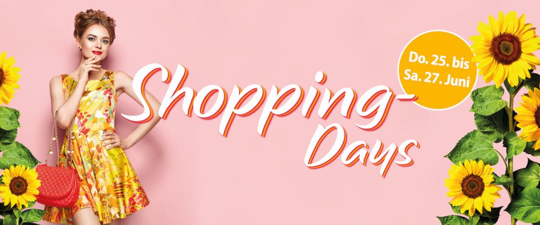 Shopping-Days im max.center