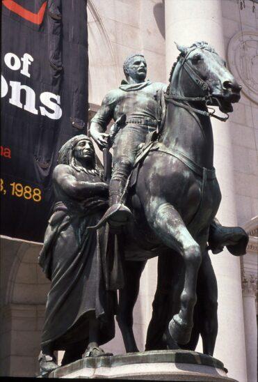 New Yorker Museum entfernt Statue von Ex-Präsident Roosevelt