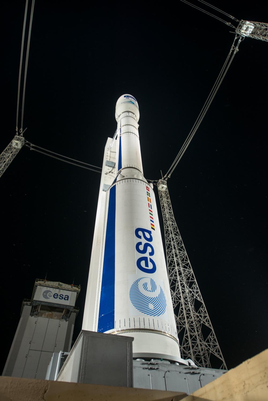 Start von Vega-Rakete erneut verschoben