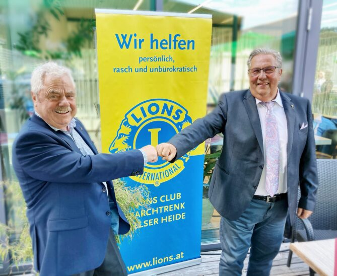 Hofübergabe im Lions Club Marchtrenk/Welser Heide