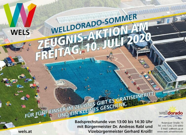 Welldorado Zeugnis Aktion