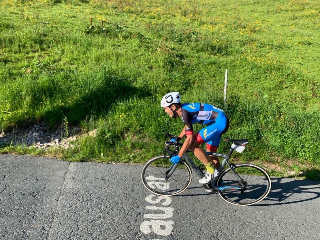 Bergzeitfahren auf das Kitzbühlerer Horn - Erneut Platz 2 für Riccardo Zoid